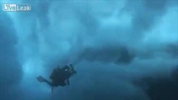 ทะเลดูดนักดำน้ำ โดนลื่นใต้น้ำพัดจมหาย เป็นตายเท่ากัน