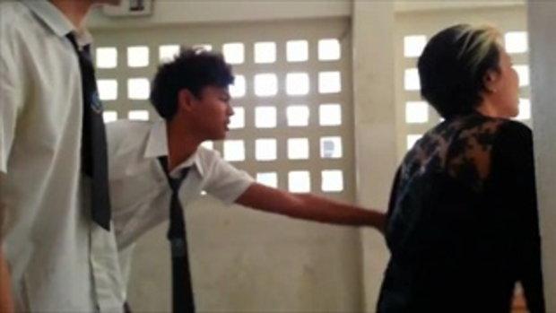 หนุ่มไทย จับสาวเป็นตัวประกัน2