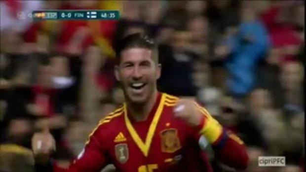 สเปน 1-1 ฟินแลนด์ (บอลโลกรอบคัดเลือก)