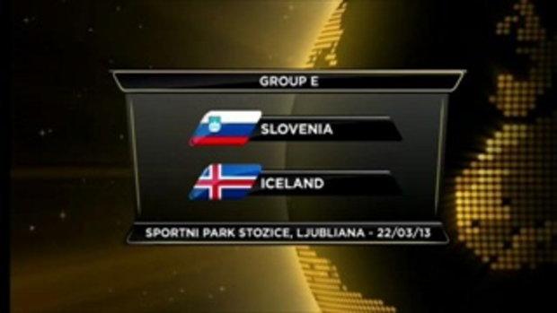 สโลวีเนีย 1-2 ไอซ์แลนด์ (บอลโลกรอบคัดเลือก)