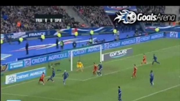 ฝรั่งเศส 0-1 สเปน (บอลโลกรอบคัดเลือก)