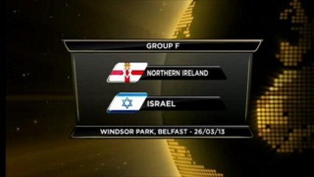 ไอร์แลนด์เหนือ 0-2 อิสราเอล (บอลโลกรอบคัดเลือก)