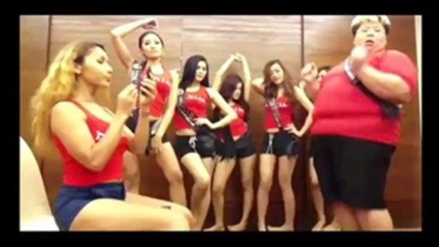 Harlem Shake Miss Maxim 2013