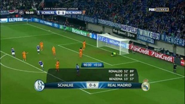 Klass-Jan Huntelaar Amazing Goal Vs Real Madrid