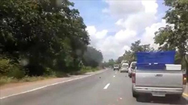 โดนรถชนขาดครึ่ง! (27_5_57)