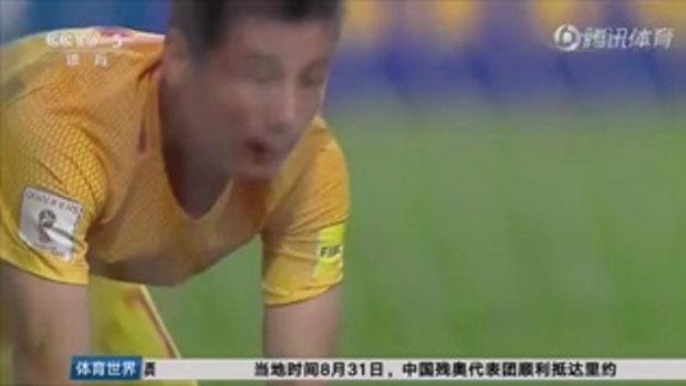 คลิปไฮไลท์ฟุตบอลโลก 2018 รอบคัดเลือก เกาหลีใต้ 3-2 จีน