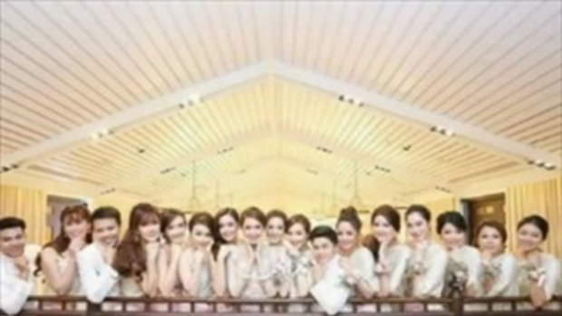 บุกส่องแก๊งเพื่อนเจ้าสาว เนย โชติกา ประชันความงามสวยอย่างไทย