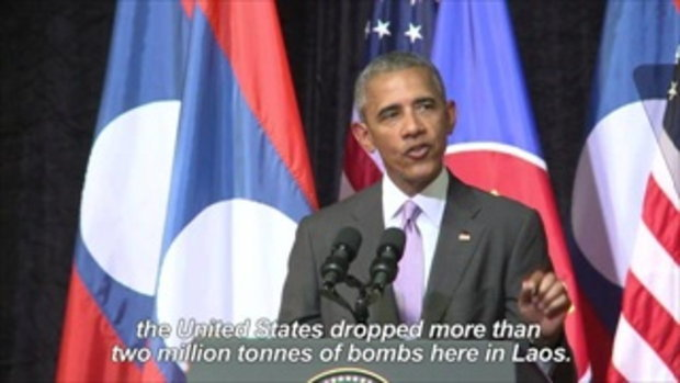 สหรัฐลั่นให้งบ 90 ล้านดอลลาร์กำจัดระเบิดในลาว