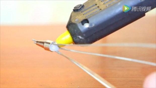 DIY สอนทำไม้ตีไข่  ใช้ง่ายประหยัดแรง