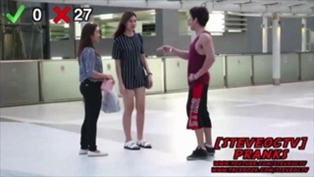 หนุ่มฝรั่ง!! ถามสาวไทยกว่า 100 คน ว่า ขอมีเซ็กด้วยได้ไหม