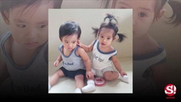 โอปอล์สอนลูกแฝดน่ารัก วันเกิดครบหนึ่งขวบ
