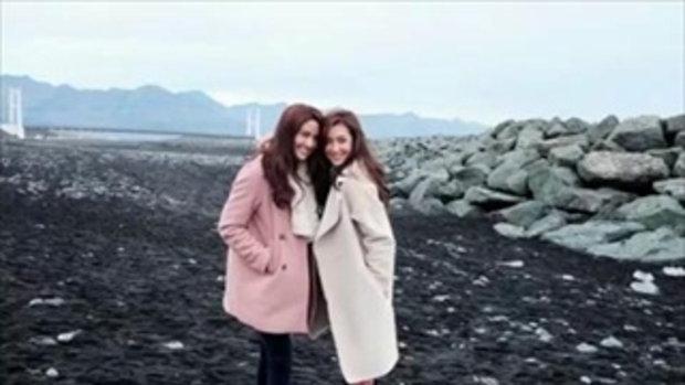 เบลล่า พรีม เที่ยวไอซ์แลนด์ เผยภาพสุดงดงามท่ามกลางแสงออโรร่า