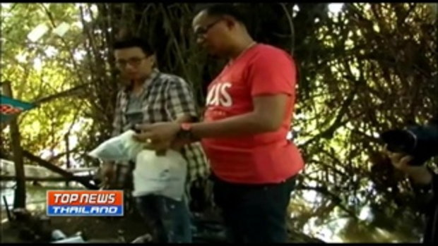 วัยรุ่นมัวสุมเสพยาในกระท่อมร้าง เห็นตำรวจตกใจกระโดดหนีลงแม่น้ำมูลหายตัว 2 คน