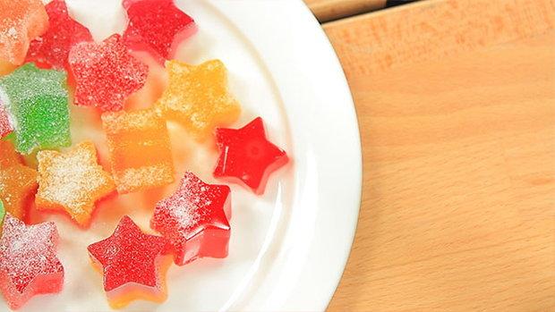 Sanook Good Stuff : สูตรเยลลี่ผลไม้เคี้ยวหนึบ ทำง่ายด้วยไมโครเวฟ