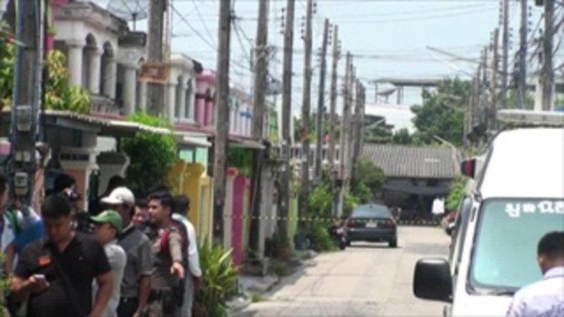 ทหารบำนาญเครียด  ยิงปืนขึ้นฟ้า-คลองโซ่ล็อคเพื่อนบ้าน