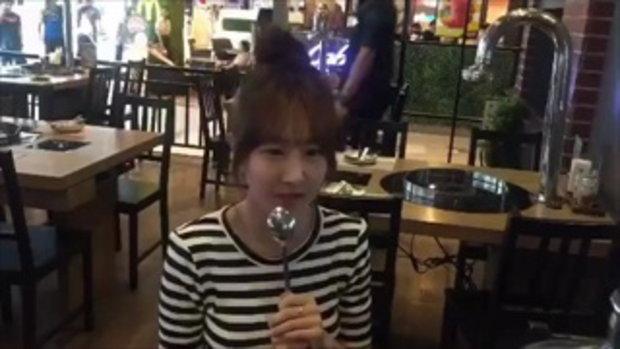 เมื่อแฟนสาวเกาหลี ของอ้วน รังสิต ร้องเพลงภาษาไทย