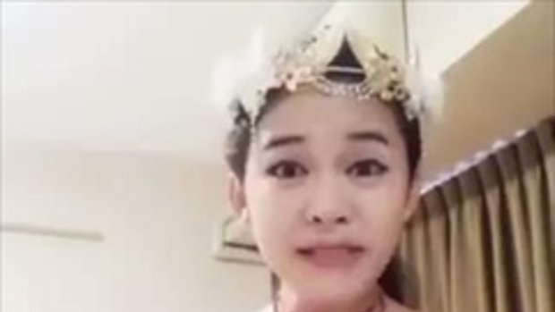 น้องแก้มบุ๋ม กระเทยลาว วิจารณ์มงกุฏนางสาวลาว Miss Laos กำลังดังสุดๆ!!