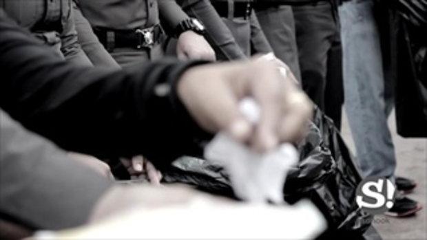 นักเรียน นายร้อยตำรวจ รุ่น 69 รวมใจบริการประชาชนถวายพ่อหลวง