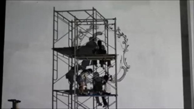 เบื้องหลัง 9 ชั่วโมง การวาด พระบรมฉายาสาทิสลักษณ์ ของชาวจิตรกรรม ม.ศิลปากร
