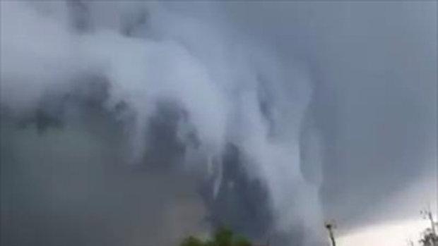 เมฆอาร์คัส ปรากฏการณ์หาดูยาก เหนือท้องฟ้า อยุธยา