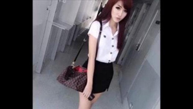 น้องปิ๊ง กะเทยสวย จากมหาวิทยาลัยกรุงเทพ - BANGKOK UNIVERSITY