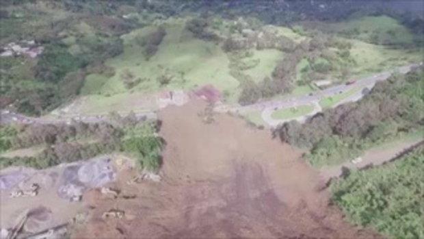 ดินถล่มในโคลอมเบียคร่าอย่างน้อย 6 ชีวิต