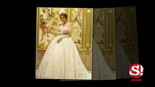 ขวัญ อุษามณี กับชุดแต่งงานที่เลอค่าอลังการที่สุด
