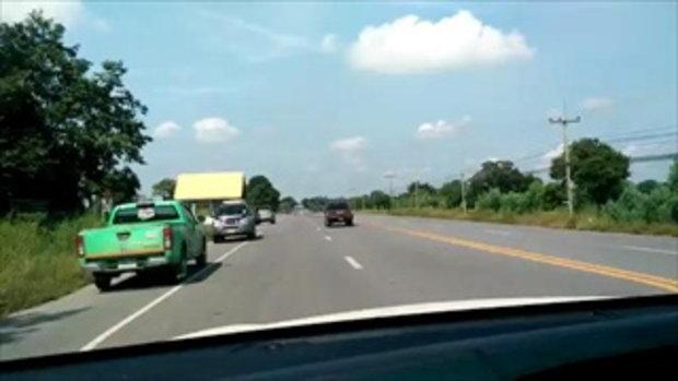 สอนทักษะต่างๆบนถนนใหญ่รถกระบะ คุณน้อยเยอรมัน(วิวสวย)