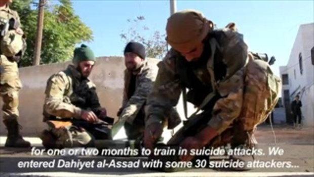 กบฏซีเรียโจมตีอเลปโปเพื่องัดข้อรัฐบาล (AFP)