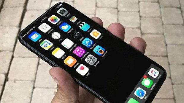 รวมภาพคอนเซ็ปต์ iPhone 8 ที่มาพร้อมจอ OLED ไร้ขอบและไม่มีปุ่มโฮม