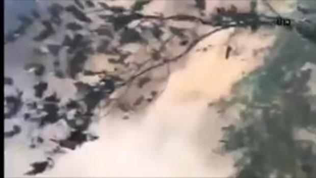 สั่งปิด! น้ำตกตาดหมอก อุทยานฯดอยสุเทพ หลังฝนตกหนักทำน้ำป่าไหลอย่างรุนแรง