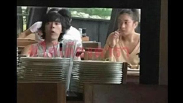 """หลักฐานชัดๆ """"แป้ง -แหนม"""" นั่งกินข้าวด้วยกัน ไปเที่ยวด้วยกัน"""