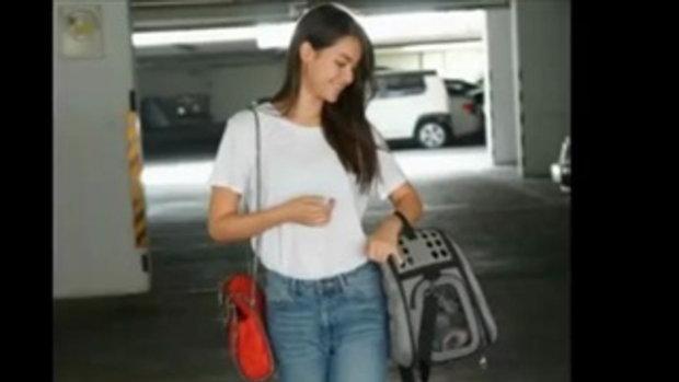เซอร์ๆ เท่ห์ ๆ กับ เสื้อยืด กางเกงยีนส์ แบบ 2 สาว เพื่อนซี้ คิมมี่ ญาญ่า