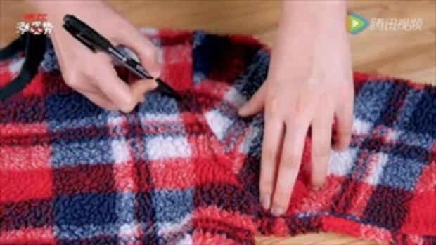 หน้าหนาวแล้ว มาเปลี่ยนเสื้อไหมพรมตัวเก่าให้เป็นอุปกรณ์กันหนาวชิ้นใหม่กันเถอะ