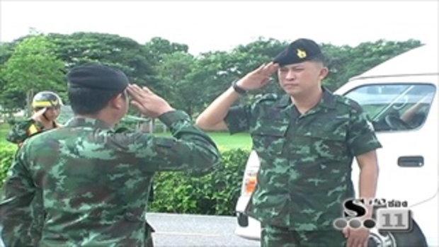 Sakorn News : ประดับเครื่องหมายครูฝึกทหารใหม่