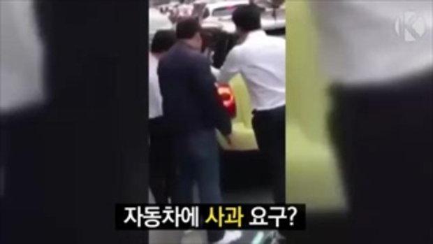 โกอินเตอร์ น็อต กราบรถกู ดังถึงเกาหลีแล้ว สื่อออกข่าวทีวีกระฉ่อน