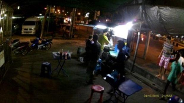 วิจารณ์สนั่น คลิปหนุ่มเตะก้านคอแม่ค้า กลางร้านขายผัดไทย