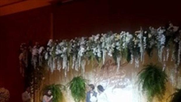 คลิปงานแต่ง แพท ณปภา เบนซ์ เรซซิ่ง เพื่อนดาราร่วมยินดี