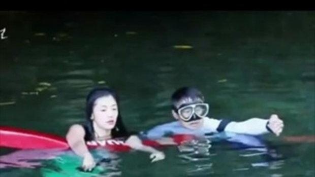 ส่องเบื้องหลัง The Legend of the Blue Sea จวนจีฮุน สู้ความหนาวเย็น