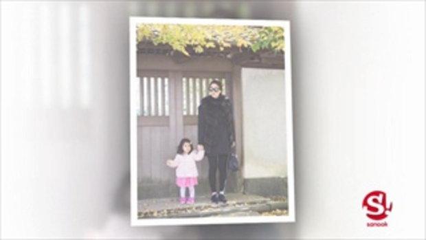 น่ารักอบอุ่น เมย์ หนุ่ม อุ้มน้องมายูเที่ยวญี่ปุ่น
