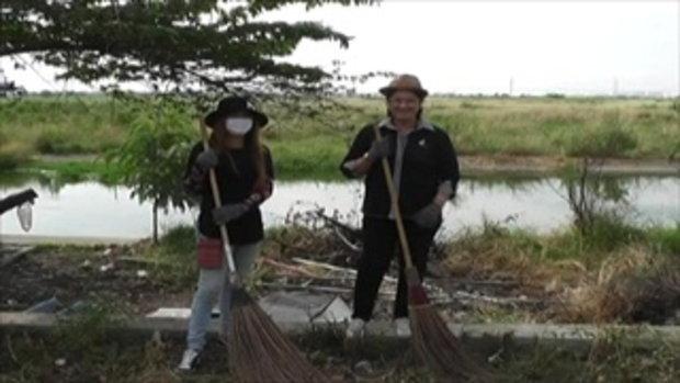 Sakorn News : เทศบาลตำบลบางเสาธงพัฒนาชุมชน