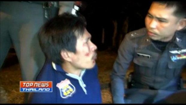ล่าระทึก! ตำรวจเมืองชลบุรีขับรถไล่ตามจับเสี่ยเจ้าของอู่ซ่อมรถยนต์ หลังชักปืนขู่รถบรรทุก 18 ล้อกลางถน