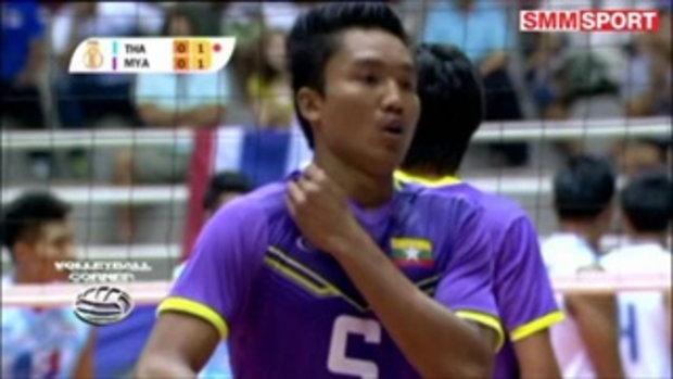 Volleyball Corner : โค้ชราชบุรี เผยเหตุไม่ส่งบอลเร็วพม่าลงสนาม-ชี้แจงปัญหามือเซต