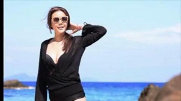 เก๋ ชลลดา รวมมิตรทะเลเดือด จัดความเซ็กซี่ในชุดบิกินี่ดำ แซ่บลืม
