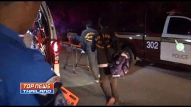 เกิดเหตุมือปืนกราดยิงร้านอาหารกลางเมืองลำปาง มีผู้ได้รับบาดเจ็บ และเสียชีวิตหลายราย