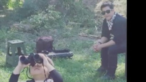 ติ๊ก เจษฎาภรณ์ กับมาดคุณพ่อขาลุย พาน้องเต็นท์ เข้าป่าส่องกล้องชมธรรมชาติ
