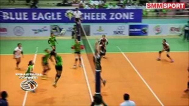 Volleyball Corner : ไฮไลท์ตบไทยลีกหญิง 3 คู่ + ตารางคะแนน