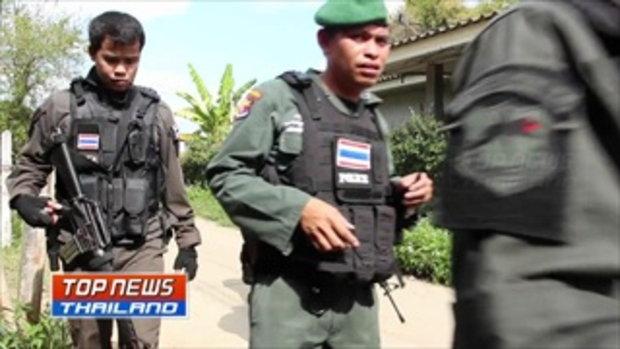 เร่งไล่ล่าคนร้ายยิง 2 ตำรวจ บาดเจ็บและเสียชีวิต