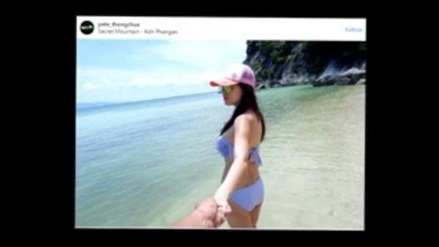 คุณแม่ลูก 3 หุ่นโคตรแซ่บ อวดร่างสวย คนมองทั้งชายหาด แท้จริงเป็นภรรยาซุปตาร์เมืองไทยคนนี้!!