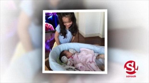 จีจี้ จอมขวัญ ให้ยลโฉมลูกสาวคนที่ 2 น้องเอ็มม่า